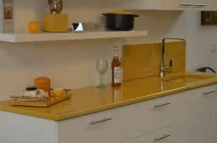 plan de travail de cuisine couleur ocre de couleur lave photo de cr 233 ation lave 233 maill 233 e