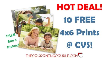 cvs free photo prints coupon