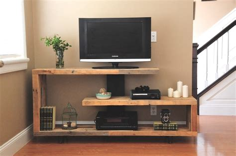 rustic tv console ideas