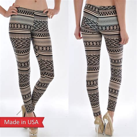 Beige Leggings Womens - Hardon Clothes