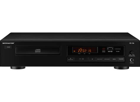 cd player mp3 monacor cd 156 cd mp3 player at low prices at huss