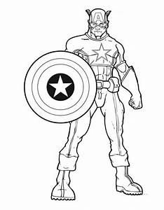captain america coloring pages - avengers coloring pages best coloring pages for kids