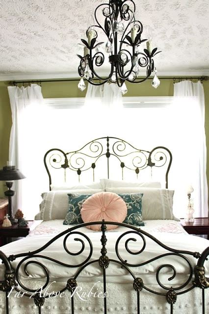 Vintage Iron Bed by Far Above Rubies Saving The Antique Iron Bed
