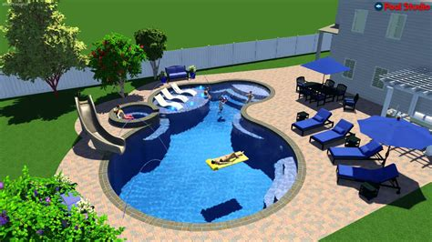 luxury home plans with pools pool studio 3d swimming pool design software