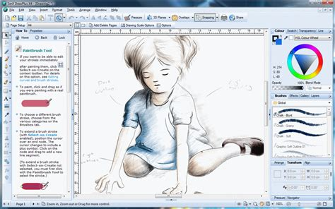 drawplus  vector graphics editor