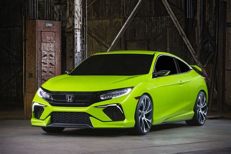 10th Generation Honda Civic Concept Unveiled, Looks Sporty