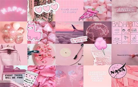 pink aesthetic laptop wallpapers wallpaper cave