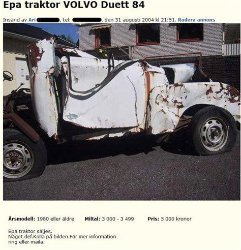 Epa traktor VOLVO Duett 88