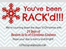Advent Calendar Activities Random Acts of Christmas Kindness