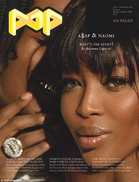 A$ap Rocky Cosies Up To Naomi Campbell In Sultry Pop Shoot