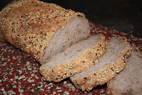 recette pain aux cereales  aux noix