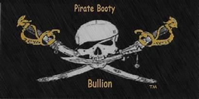 Pirate Booty Treasure Flag Cedar Bullion Box