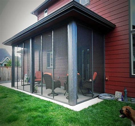 gallery of patio and deck enclosures mobile screens etc