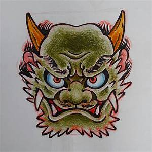 #oni #anime #japan #japanese #japanesetattoo #wabori # ...