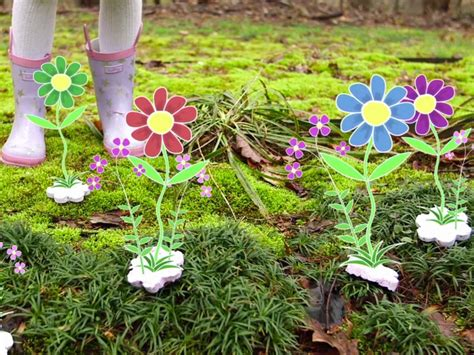 Garden Crafts : Easy Gardening Crafts For Kids