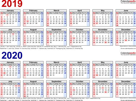 calendar printable year excel calendars