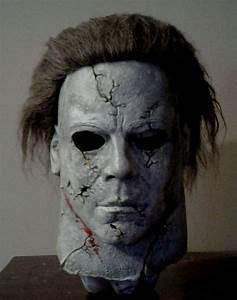 Destroyer Michael Myers latex Halloween mask buried RZ Rob ...