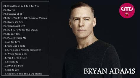 Bryan Adams Greatest Hits Full Cover 2017  Bryan Adams