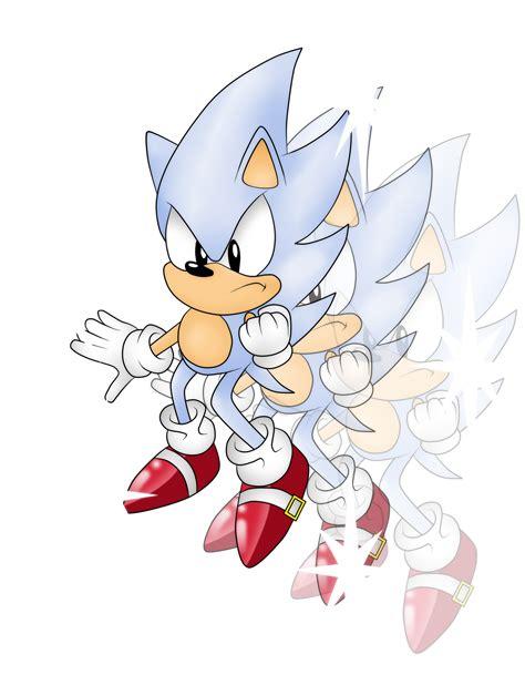 Classic Hyper Sonic the Hedgehog