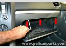 Volkswagen Golf GTI Mk V Glove Box Removal 20062009