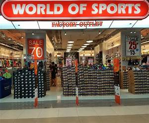 World of Sports Factory Outlet | Sports Apparel | Outlet | IMM