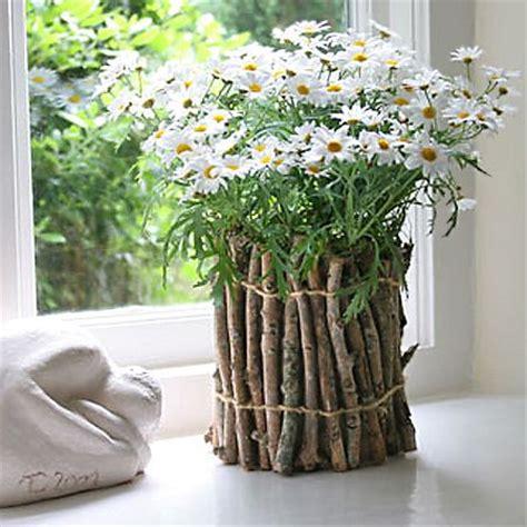flowers in pots ideas unique flower pot or container ideas twigs garden ideas pinterest gardens planters and
