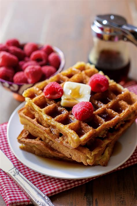 my favorite buttermilk waffles sally s baking addiction