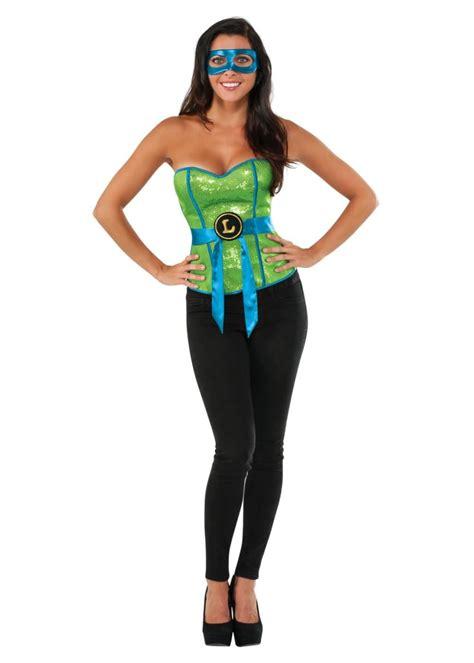 ninka turtle leonardo women corset superhero costumes