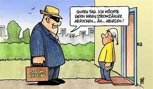 Eon Rechnung : stromabzocker von harm bengen politik cartoon toonpool ~ Themetempest.com Abrechnung