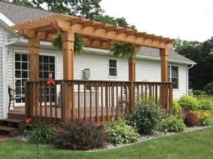 Pergola Deck Designs