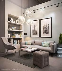 Idees Deco Salon : 21 id es de d coration design pour son salon ~ Melissatoandfro.com Idées de Décoration