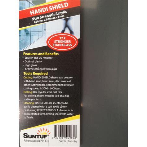 Suntuf 900 x 600 x 5mm Grey Acrylic Sheet | Bunnings Warehouse