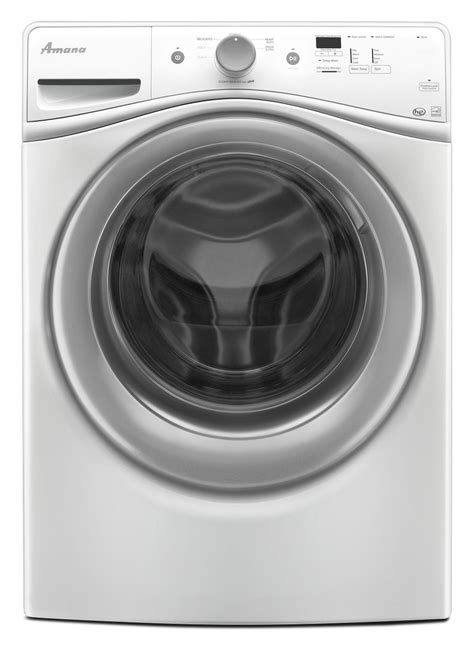 Amana 48 Cu Ft Front Load Washer And 74 Cu Ft