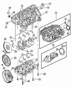 2002 Jeep Liberty Crankshaft  Includes Target Ring And