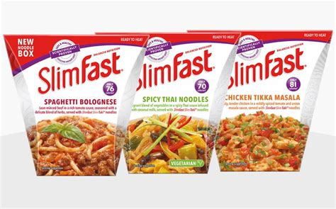 Slimfast Relaunches Weight Loss Brand With New Noodle