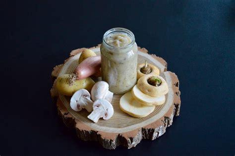 cuisiner le panais recette recette de purée de panais chignons de échalote pour bébé 6 ou 8 mois