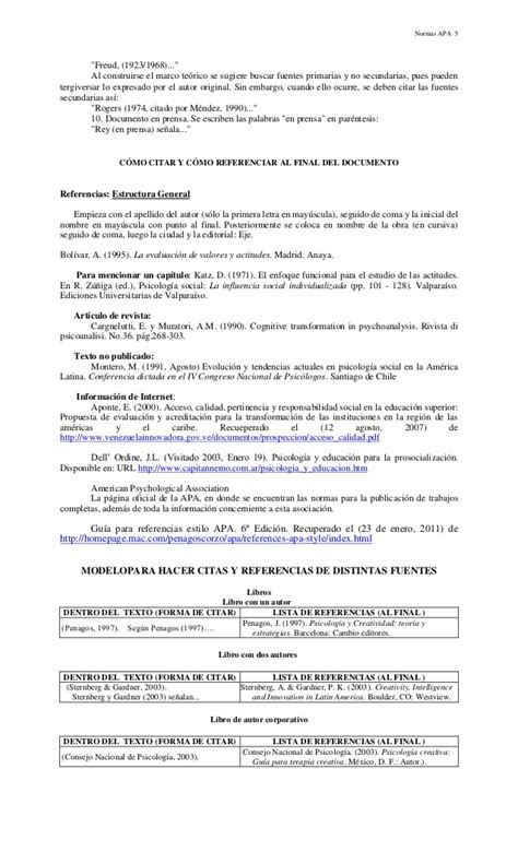 Normas Apa 2014 Para Resumen by Normas Apa Anderson38