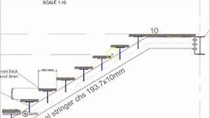 Wood Stair Detail Dwg PDF Plan Download – The Woodworker