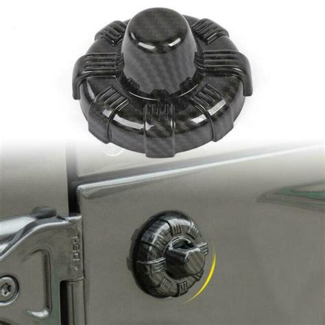 antenna base cover trims carbon fiber   jeep gladiator  ebay