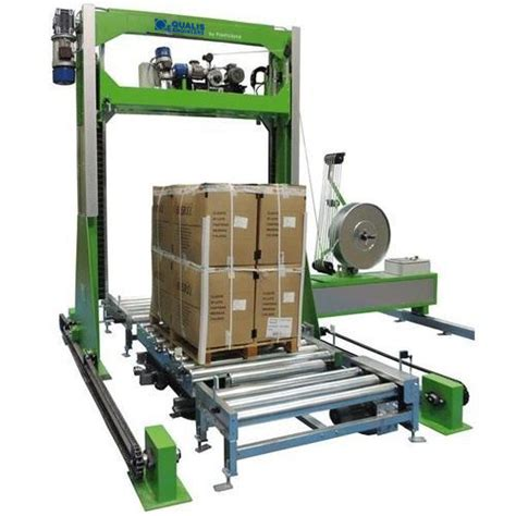 automatic pallet strapping machine stand