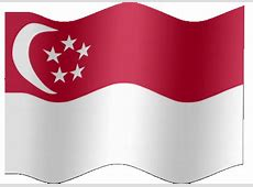 Animated Singapore flag Country flag of abFlagscom
