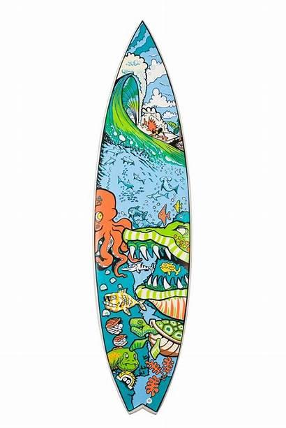 Surfboard Posca Surf Board Clipart Surfing Designs