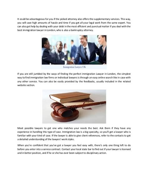 How to choose from the best immigration lawyers in london.