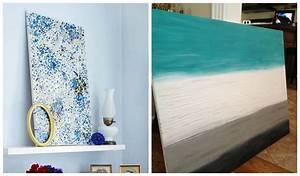Canvas Art DIY Bathroom — Optimizing Home Decor Ideas