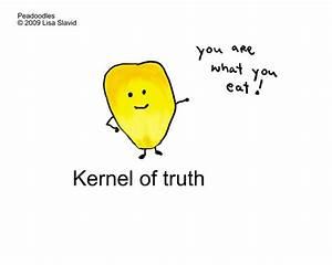food, cartoon, cute, pun, peadoodles, corn, kernel ...