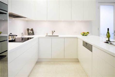 Polyurethane Kitchen Cupboards by Handleless Kitchens Rosemount Kitchens