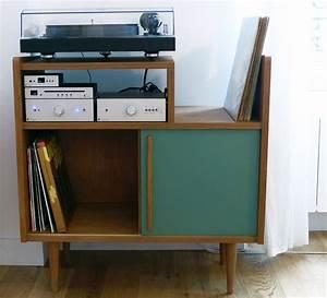 Meuble Platine Vinyle Vintage : l 39 atelier monsieur madame sunnyreve vinyl storage atelier and storage ~ Teatrodelosmanantiales.com Idées de Décoration
