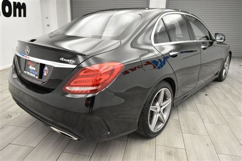 Up to 24 city / 34 highway. Used 2017 Mercedes-Benz C-Class C 300 Sport 4MATIC AWD 4dr Sedan, Stock# 12226, Black, Mileage ...