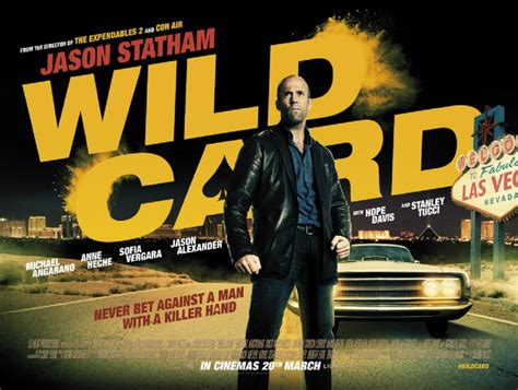 poster  jason stathams action flick wild card