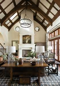 Homes With Cathedral Ceilings Ideas by Tudor Style Cathedral Ceiling Home Decor